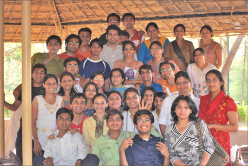 all future teachers at the ashram!